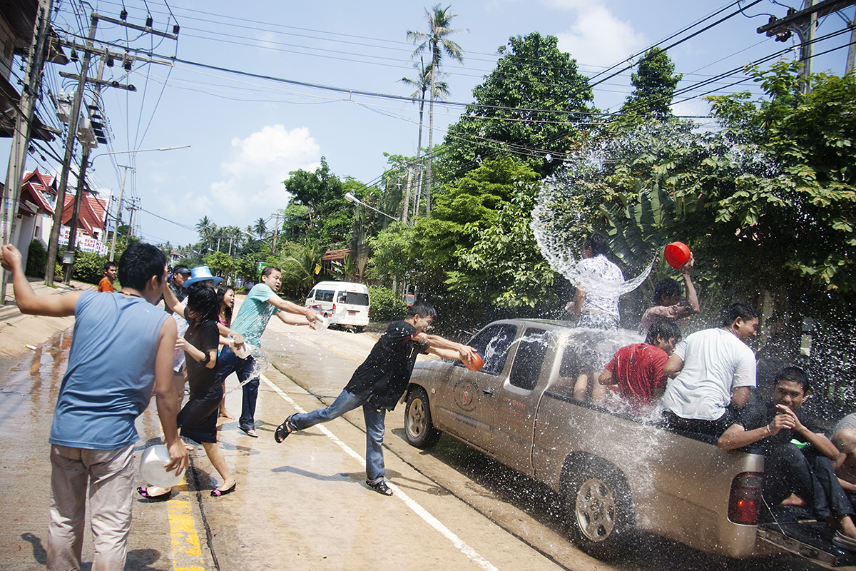 Songkran - New Year in Thailand