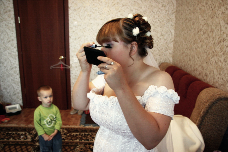 Olga, wedding in Russia