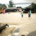 Flooding in Thailand, Koh Samui seen through the witness' eyes