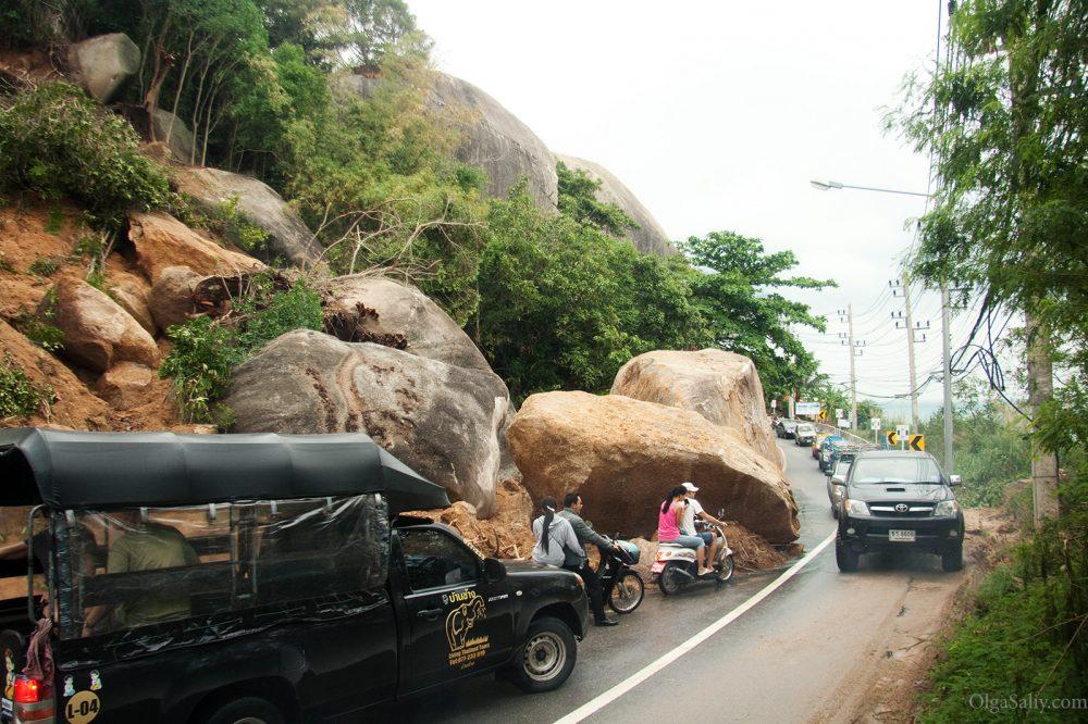 Thailand Samui flooding