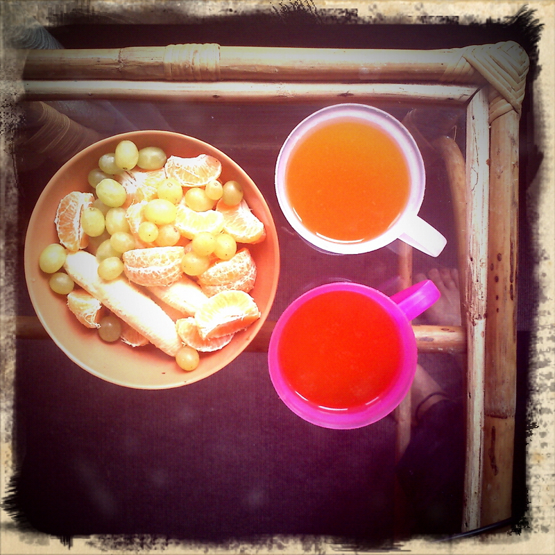 Hot sea-buckthorn juice, Pokhara