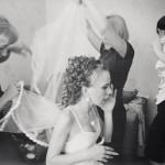 Russian wedding preparations chaos