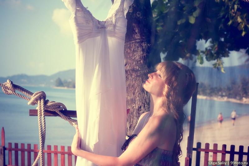 wedding dress in thailand