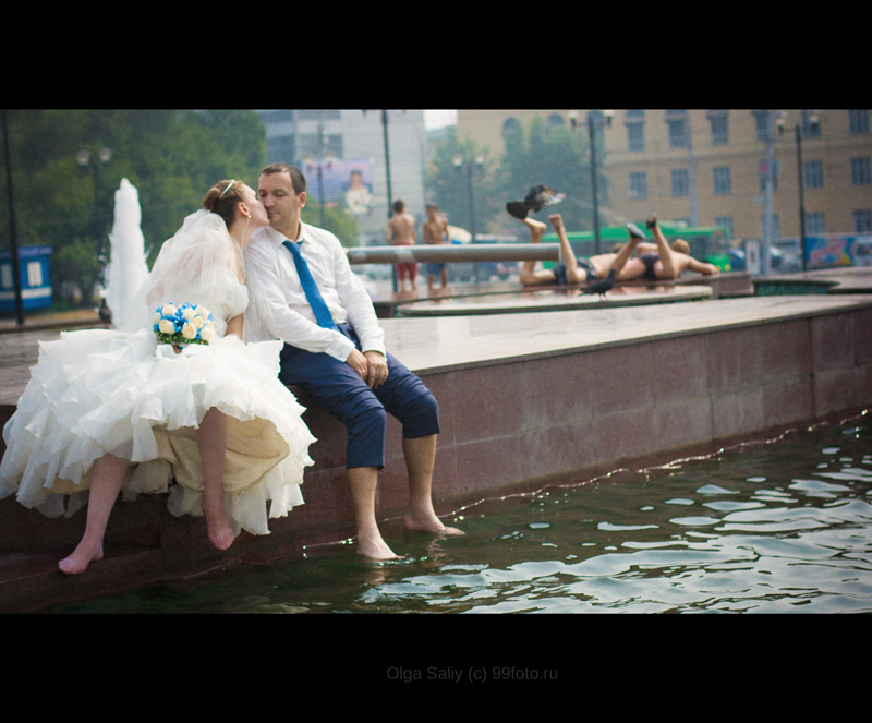 Wedding photo, Novosibirsk, Russia