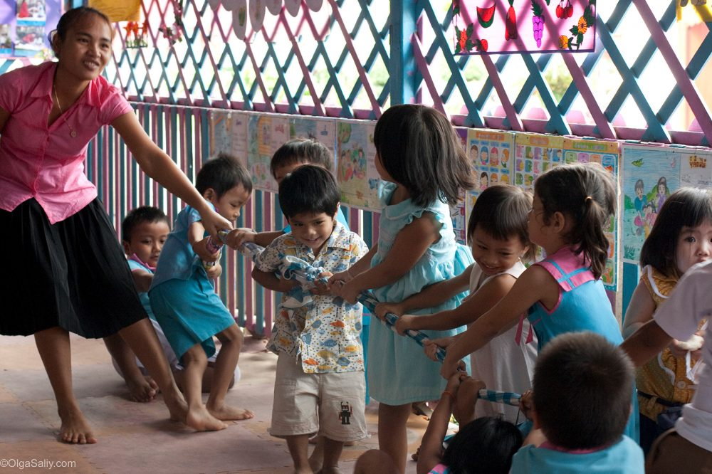 Thailand Kinder Briefe : Thai kindergarten on koh samui olga saliy photography