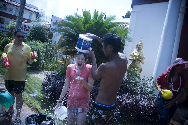 Thailand Songkran on Koh Samui photography