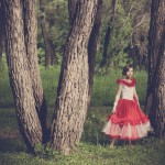Fairy Photo portrait of the Siberian forest