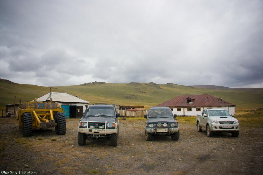 """Abandoned border post """"Argamdzhi"""""""