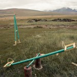 Ukok Plateau Life. Travel Photography