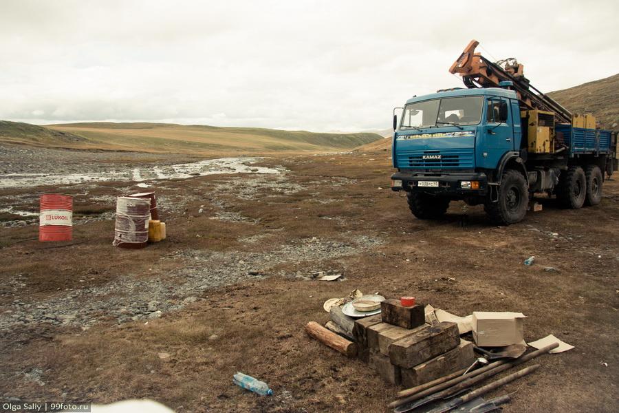 Ukok Plateau, Altay Mountain in Russia