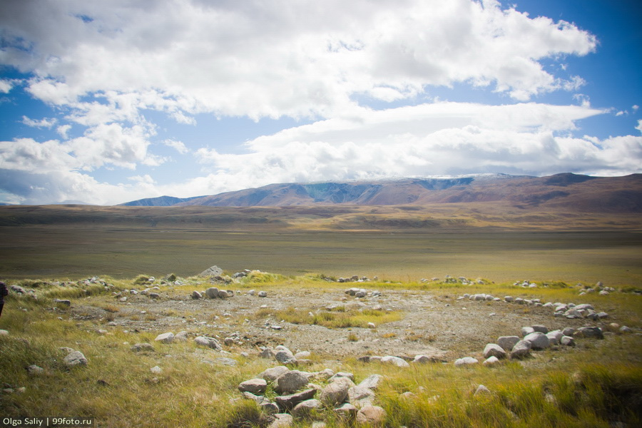 Ukok Plateau, Altay Mountain in Russia