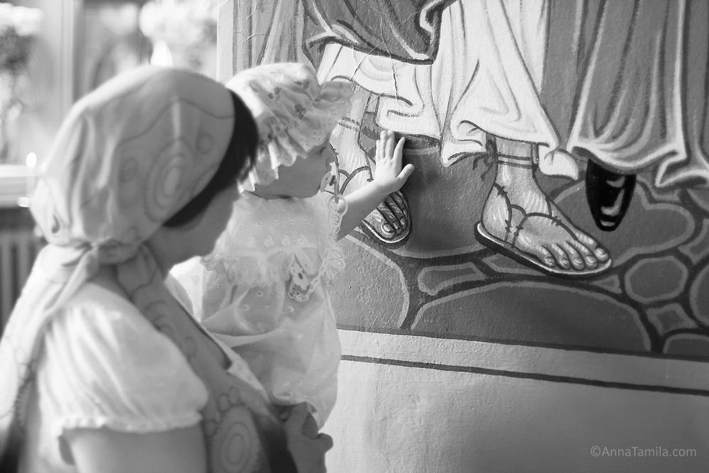baptism in Alexander Nevsky Cathedral, Novosibirsk (2)