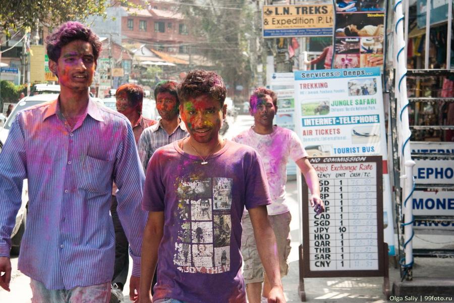 Nepal, Pokhara, Holi Festival, Festival of Colors (37)