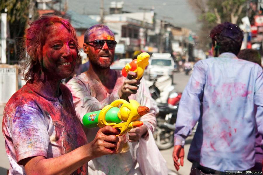 Nepal, Pokhara, Holi Festival, Festival of Colors (36)