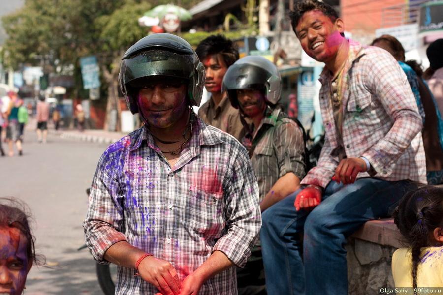 Nepal, Pokhara, Holi Festival, Festival of Colors (32)