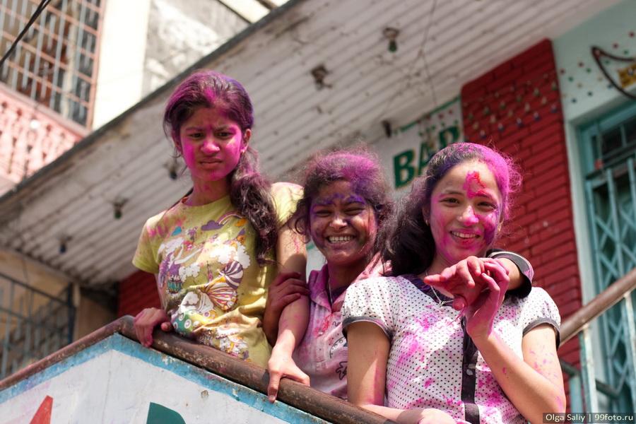 Nepal, Pokhara, Holi Festival, Festival of Colors (31)