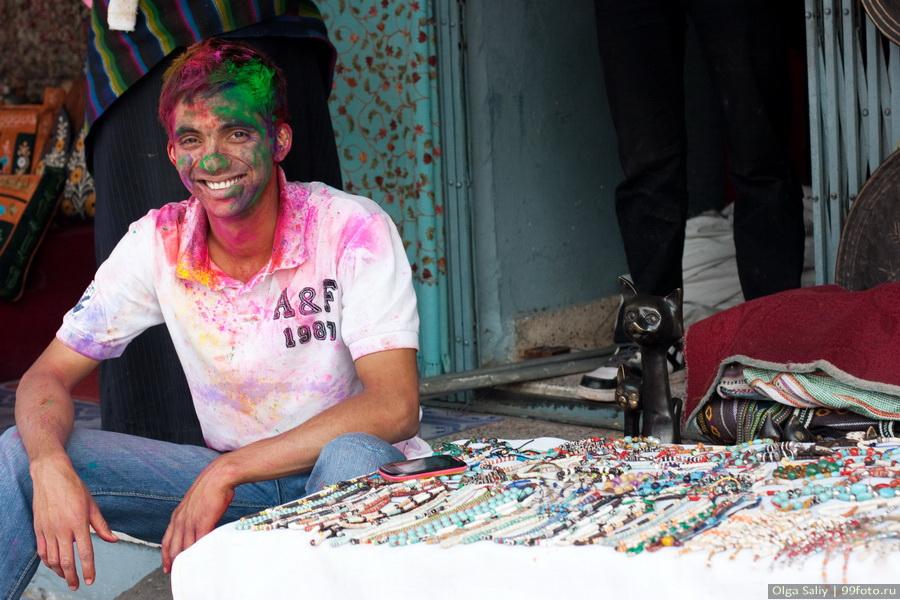 Nepal, Pokhara, Holi Festival, Festival of Colors (30)