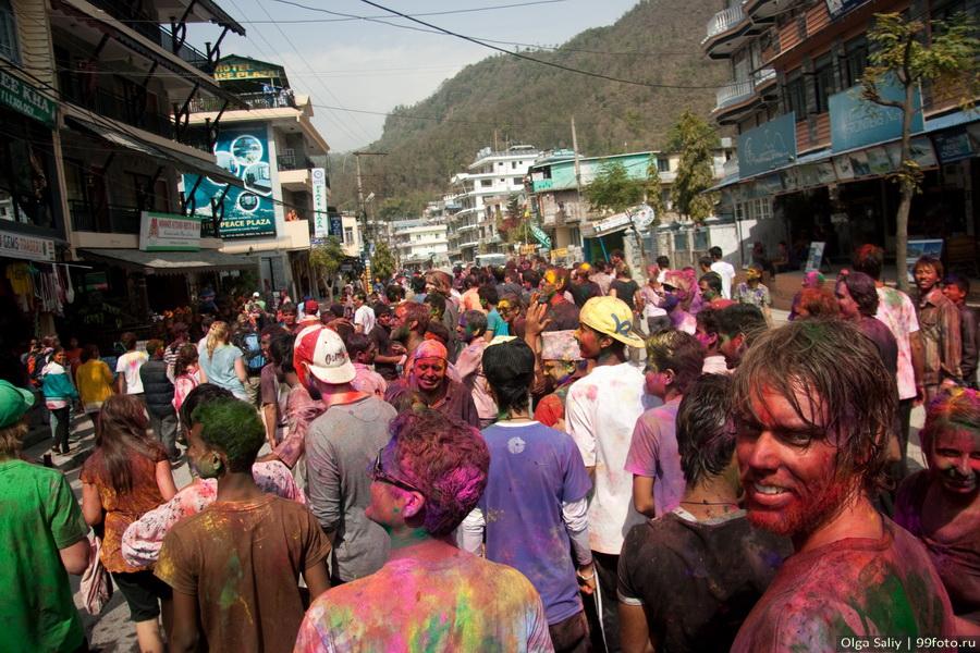 Nepal, Pokhara, Holi Festival, Festival of Colors (26)