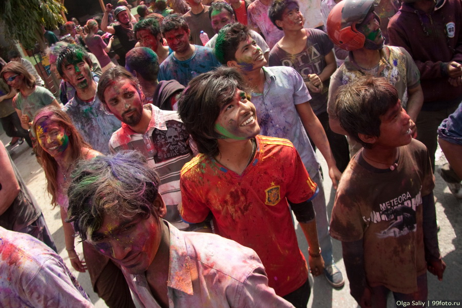 Nepal, Pokhara, Holi Festival, Festival of Colors (25)