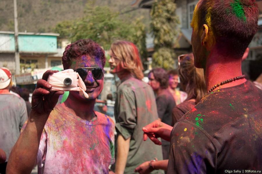 Nepal, Pokhara, Holi Festival, Festival of Colors (24)