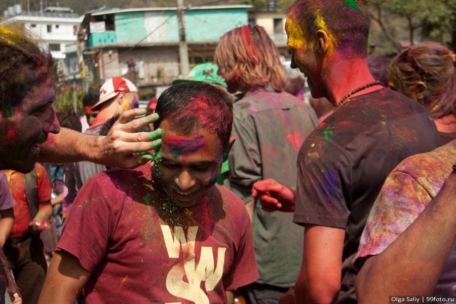 Nepal, Pokhara, Holi Festival, Festival of Colors (23)
