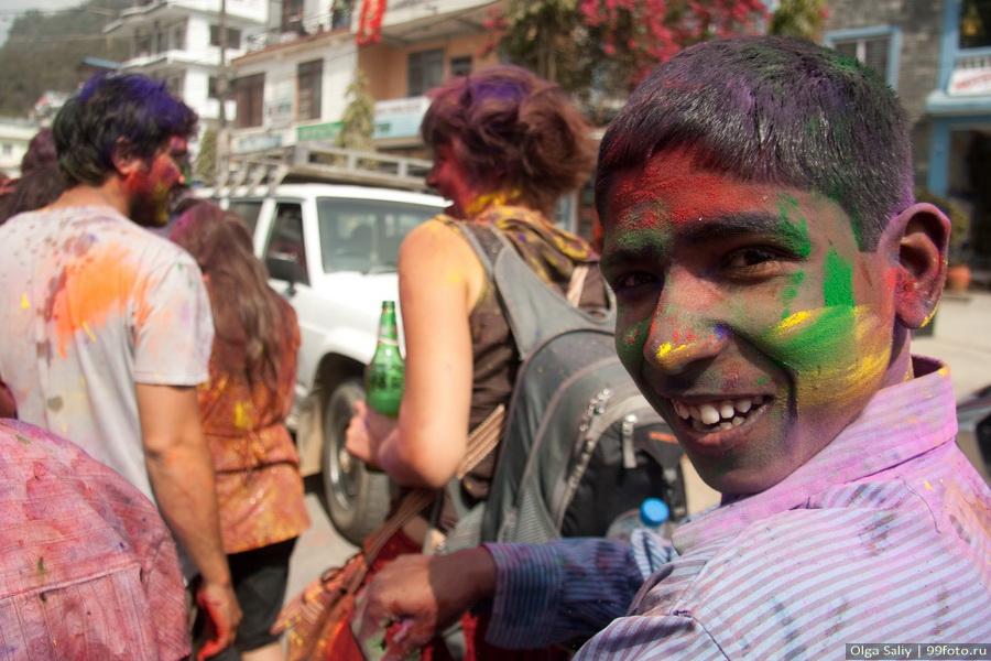 Nepal, Pokhara, Holi Festival, Festival of Colors (21)