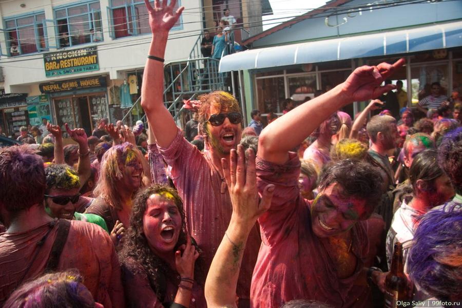 Nepal, Pokhara, Holi Festival, Festival of Colors (20)