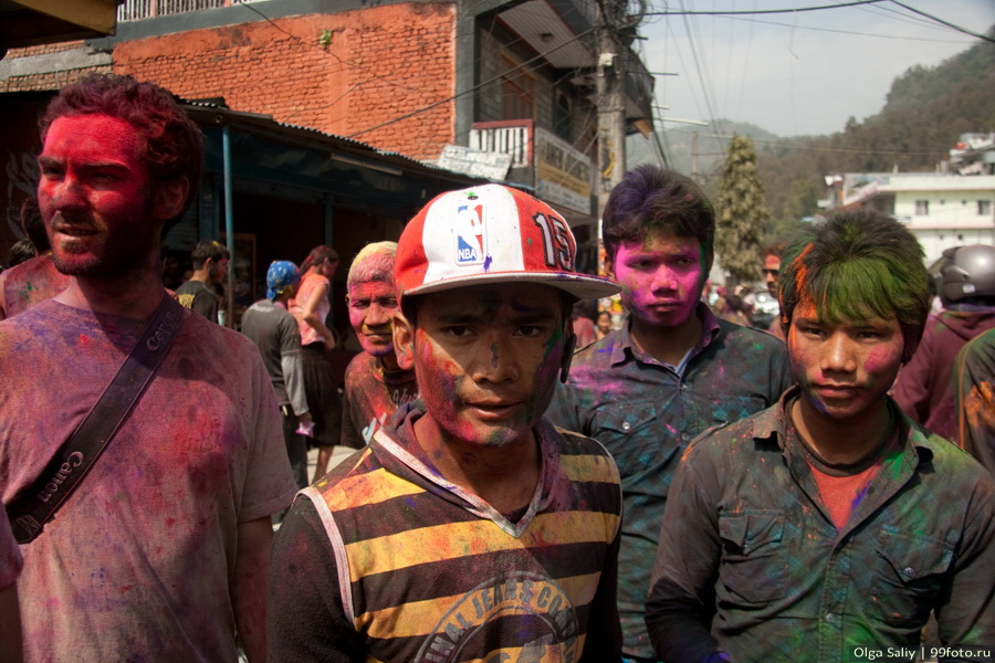 Nepal, Pokhara, Holi Festival, Festival of Colors (19)