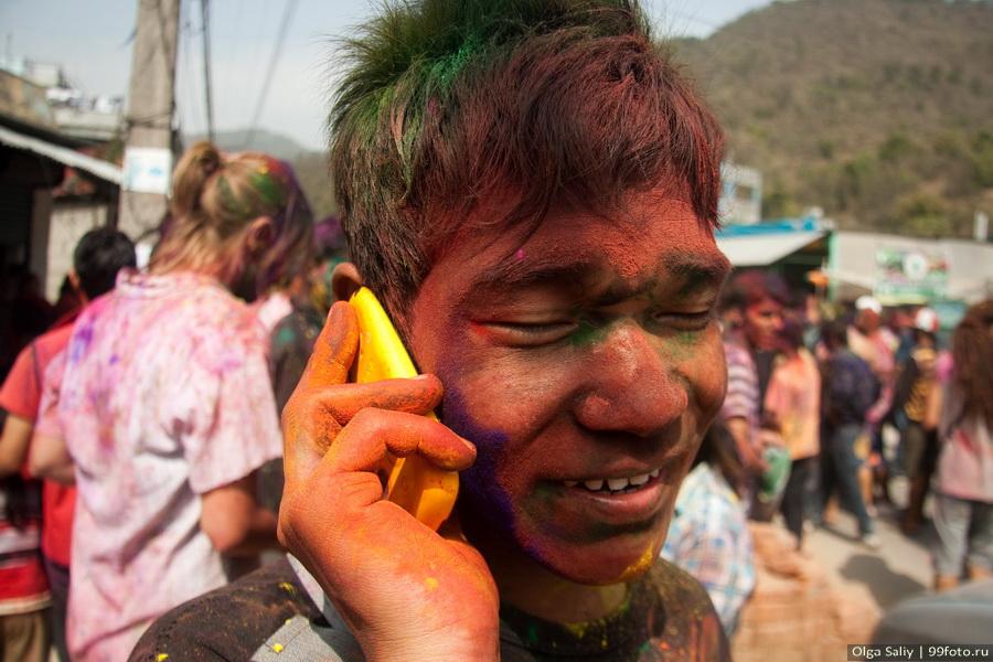 Nepal, Pokhara, Holi Festival, Festival of Colors (18)