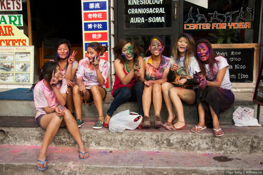 Nepal, Pokhara, Holi Festival, Festival of Colors (16)