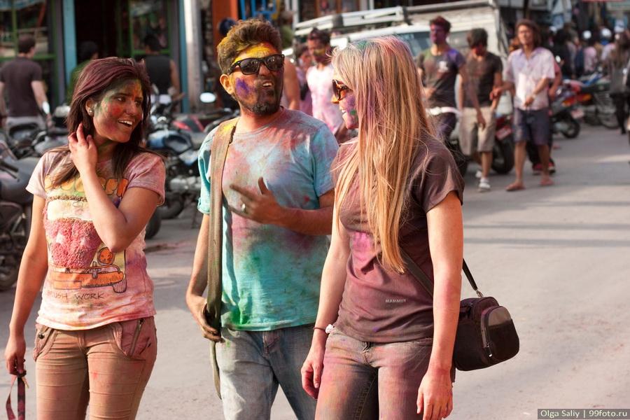 Nepal, Pokhara, Holi Festival, Festival of Colors (14)