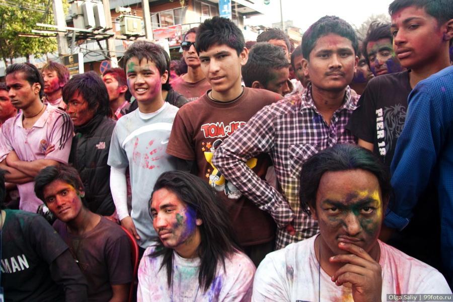 Nepal, Pokhara, Holi Festival, Festival of Colors (12)