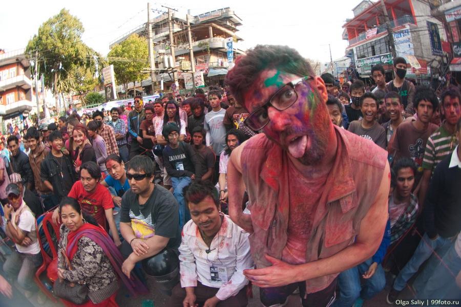 Nepal, Pokhara, Holi Festival, Festival of Colors (11)