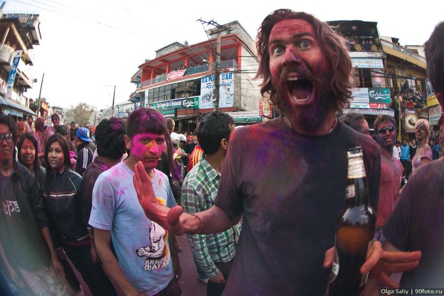 Nepal, Pokhara, Holi Festival, Festival of Colors (9)