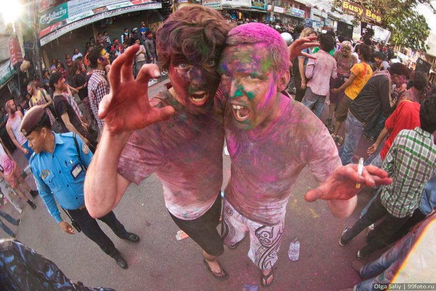 Nepal, Pokhara, Holi Festival, Festival of Colors (7)