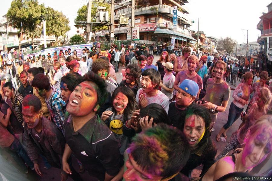 Nepal, Pokhara, Holi Festival, Festival of Colors (6)