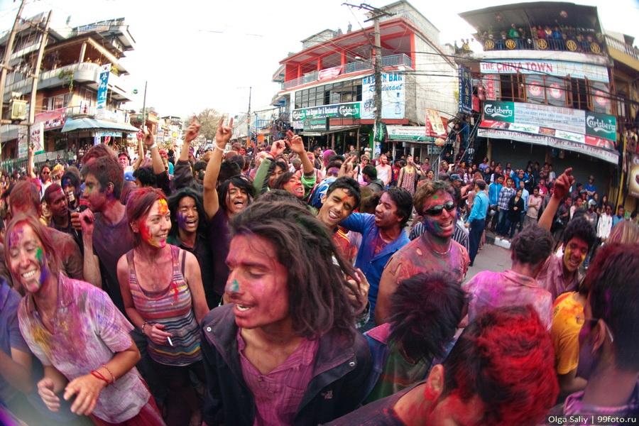 Nepal, Pokhara, Holi Festival, Festival of Colors (5)