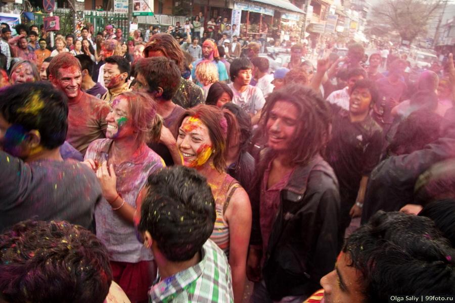 Nepal, Pokhara, Holi Festival, Festival of Colors (4)