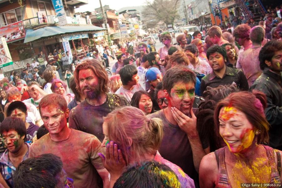 Nepal, Pokhara, Holi Festival, Festival of Colors (3)
