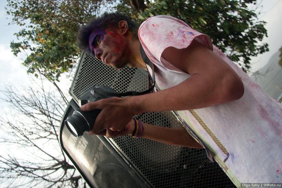 Nepal, Pokhara, Holi Festival, Festival of Colors (2)