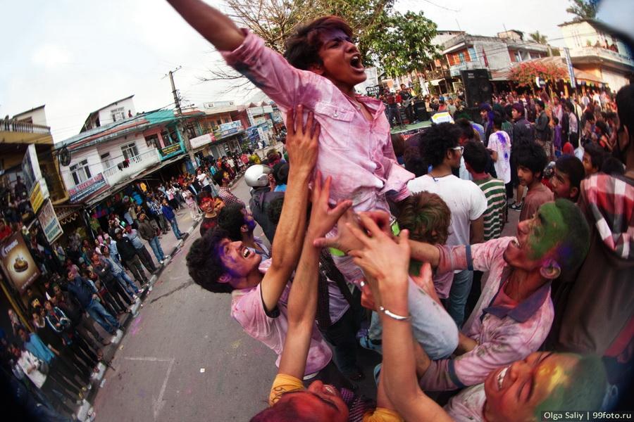 Nepal, Pokhara, Holi Festival, Festival of Colors (1)
