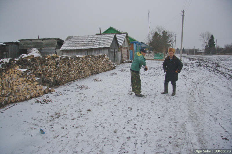 Estonian village Nikolaevka in Russia