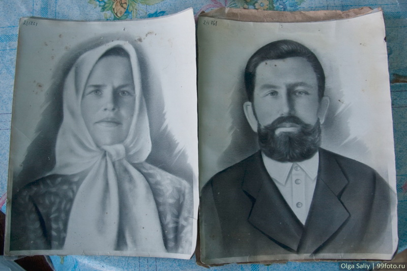 The first settlers Samuel Kevay and Lina Kevay