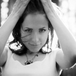 Olga. Black & White Photo Portrait