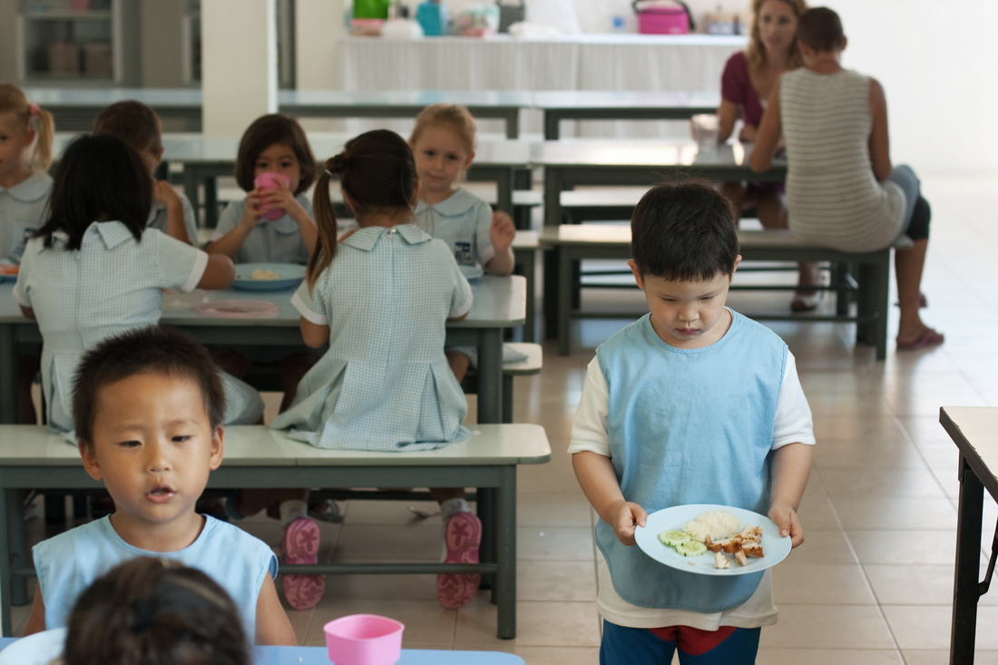 Kitchen in koh Samui kindergarten