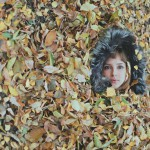 Strange autumn portrait