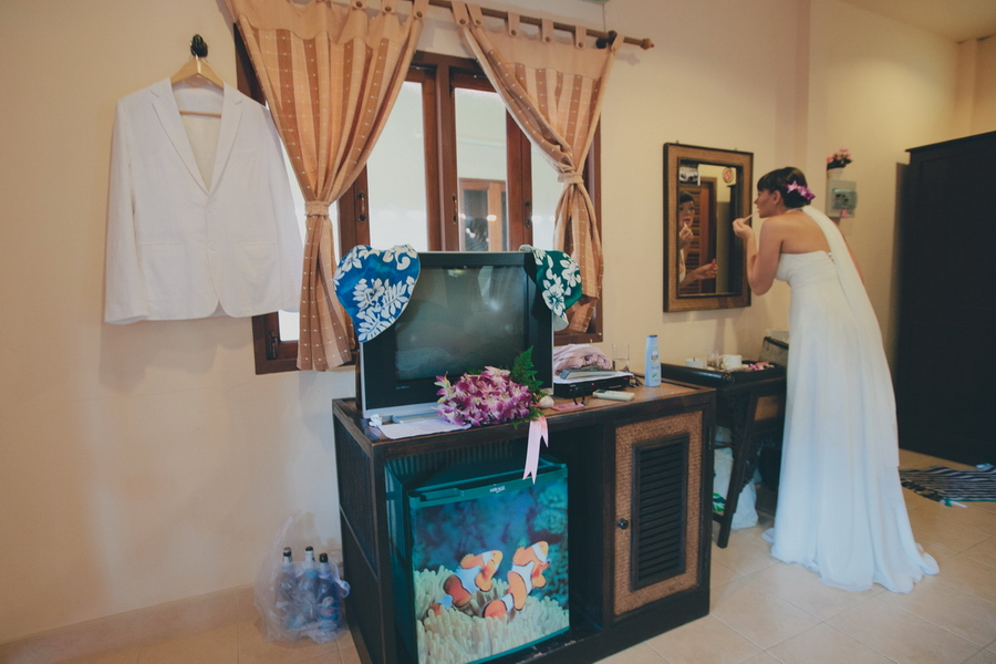 Love story, Phuket, Thailand. Wedding photo