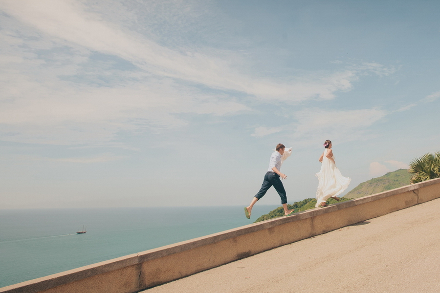 Love story, Phuket, Thailand. Wedding photo