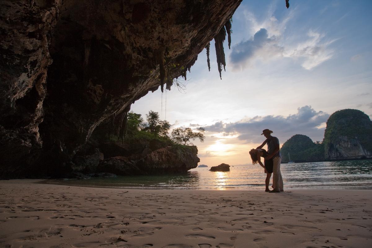 Love story in Krabi