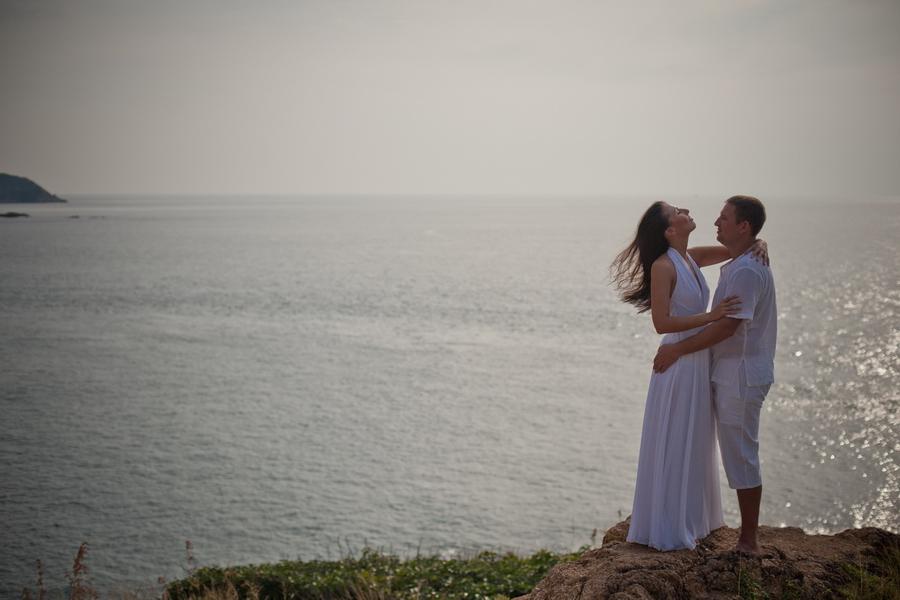 Love story in Phuket